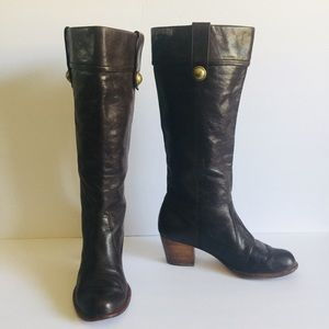 f8d77072abe Coach · COACH Fayth Knee High Leather Riding ...